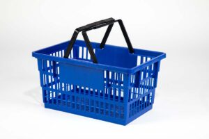 big basket dark blue