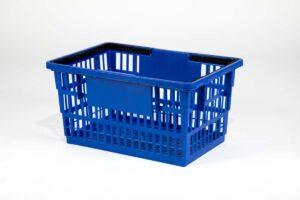 big basket dark blue
