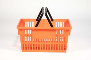 big basket orange