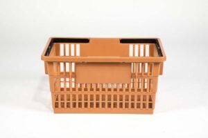 big basket tan