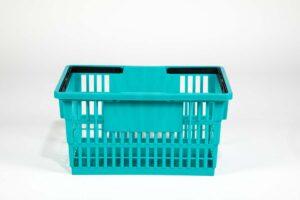 big basket teal