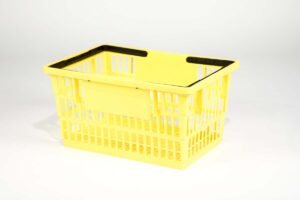 big basket yellow