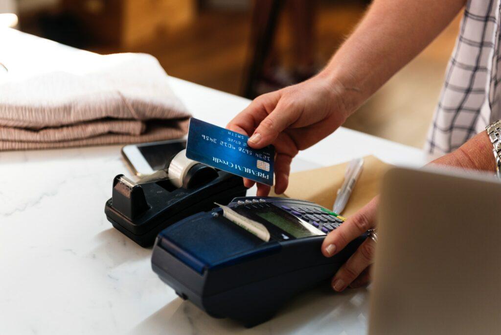 Swipe Machines at Retail Stores