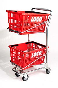 hero big basket cart