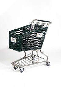 hero plastic shopping cart pc10