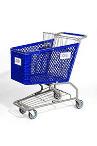 hero plastic shopping cart pc20