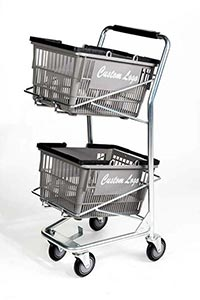 hero standard basket cart