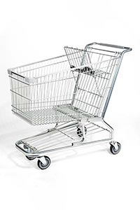 hero steel wire cart