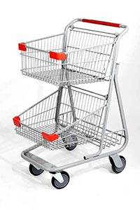 hero urban steel basket cart