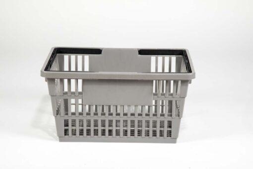 Large gray basket