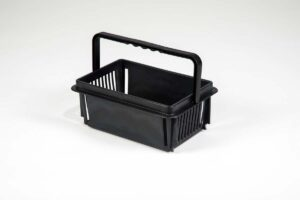 mini basket black
