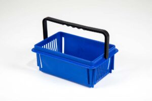 mini basket dark blue