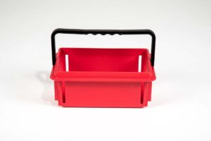 mini basket red