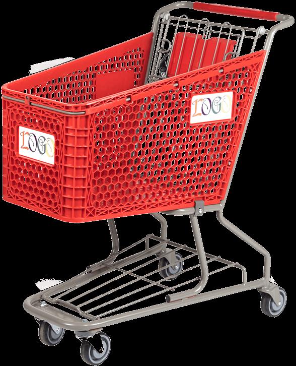 Plastic Shopping Carts - Good L Corp