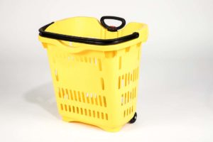 roller basket yellow