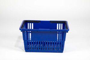 standard basket dark blue