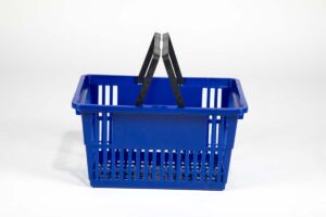 standard basket dark blue