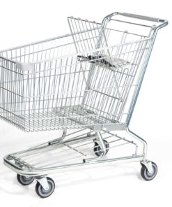 Steel Wire Shopping Cart