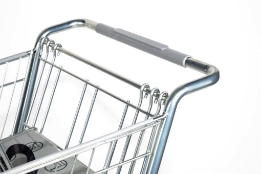 shopping cart railing