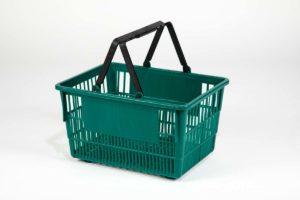 tall basket emerald