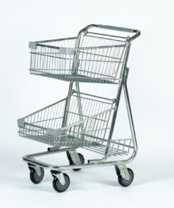 Good L Corp zinc shopping cart with no logo