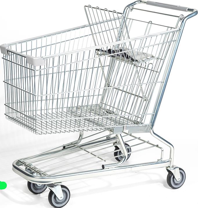 Transparent Shopping Cart
