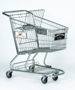 Good L Corp wire shopping cart for a grocery store